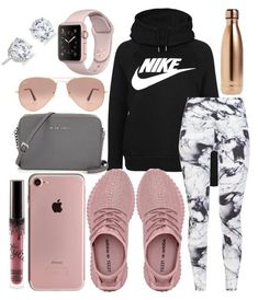 Sporty outfits, athletic wear, sport outfits, athletic fashion, outfits for Lazy Outfits, Teenage Outfits, Cute Comfy Outfits, Cute Outfits For School, Teen Fashion Outfits, Swag Outfits, Outfits For Teens, Sport Outfits, Casual Outfits