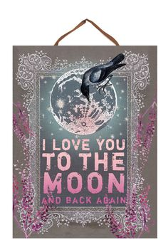 PAPAYA! Art Moon & Back Art Panel Print - Decor - What's New