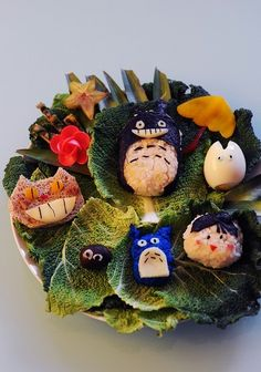 Totoro bento!