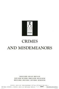 Crimes and Misdemeanors (1989)--One of Filmspotting Adam's two favorite Woody Allen films.