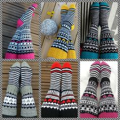 Suomi on miljoonien villasukkien maa – kuvaa meille omasi Wool Socks, Knit Mittens, Knitted Shawls, Knitting Socks, Hand Knitting, Knitting Patterns, Crochet Patterns, Fair Isle Knitting, Knitting Accessories