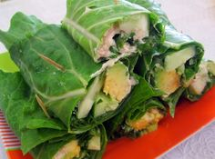 """Super easy raw veggie wraps with a nut-based """"mayo"""". Yum! easy-raw-meals"""