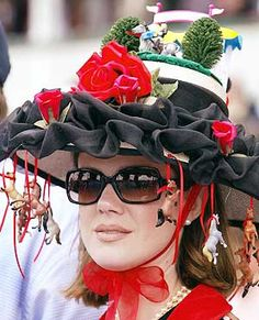 Donna, here is an idea for you - derby hats