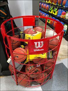Wilson Basketball Circular Bulk Bin in Read