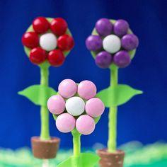 Flower Pot Cake Pops