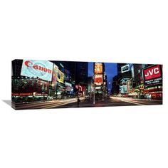 Global Gallery 'Times Square, New York City' by Richard Berenholtz Photographic Print on Wrapped Canvas