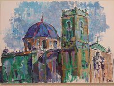 Basílica Sta María Exposición Lonja Medieval M Teresa Matas #Elche
