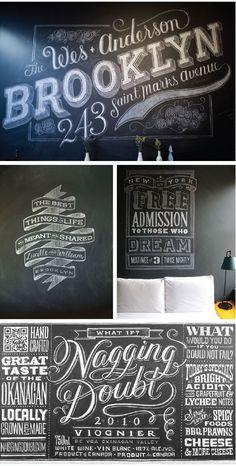 freehand work by graphic designer Dana Tanamachi