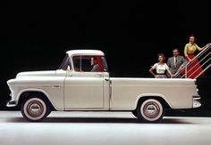 Chevrolet Cameo Pickup 1955
