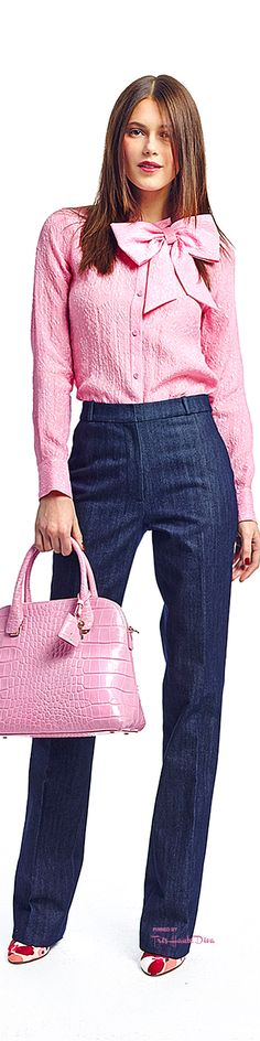 #NYFW Kate Spade F/W 2015-16   women fashion outfit clothing stylish apparel @roressclothes closet ideas