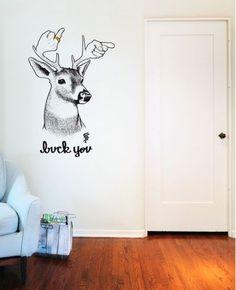 Buck You Wall Decal