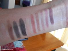 LA Colors Cosmetics Nude Eyeshadow Palette Swatches