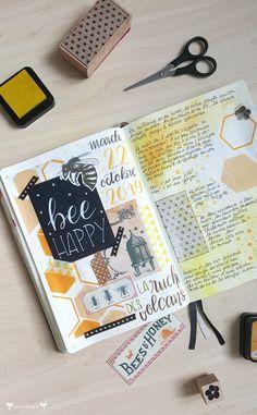 Blog, Bullet Journal, Organization, Memories, Sketchbooks, Journals, Scrapbooking, Beehive, Getting Organized