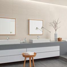 Le carrelage intérieur de la collection Loft a un esprit résolument moderne. Ses couleurs minimalistes vont  apporter un aspect sophistiqué et design à votre carrelage salle de bain.