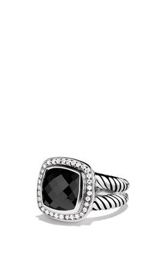 David Yurman 'Albion' Ring with Black Onyx & Diamonds available at #Nordstrom