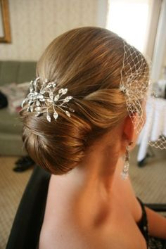 Coiffure mariage : Up do
