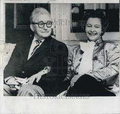 1959 Press Photo Claude Rains Actor Wife Madame Agi Jambor Married Chester   eBay