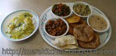 Gudi Padva Thali - 31 March 2014 #thali #maharashtra #marathi
