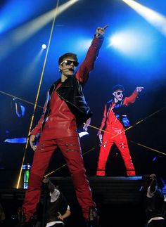 Justin bieber 2011 on stage