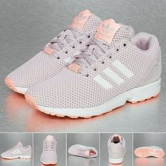 Adidas Tubular Radial K White and holographic adidas tubular. Brand new* never worn. Very comfortable and hard to find. Im selling these as they are to small for me :( But still super cute! I'm listing these as a 6 because a 6 in womens is really a 4 in boys. Includes the box. 100% authentic. Adidas Shoes Sneakers
