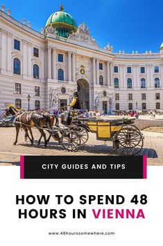Vienna is an often overlooked European capital. Being somewhat removed from the tourist hot spots of Italy, France and Germany, the Austrian capital offers just as much its neighbours, with far fewer crowds. Take this guide to make the most of your first 48 hours in Vienna.