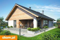DOM.PL™ - Projekt domu Mój dom Bursztyn CE - DOM BM9-83 - gotowy koszt budowy Home Fashion, Building A House, Gazebo, House Plans, Cottage, Outdoor Structures, House Styles, Outdoor Decor, Design