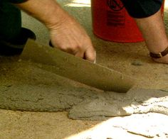 Repair and resurface a concrete driveway in a weekend or less. Better Homes and Gardens contributing editor Danny Lipford shows you how.