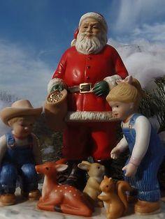 Homco Home Interiors Denim Days Sharing Christmas Spirit 58113 | eBay