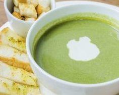 Soupe aux épinards et boursin…
