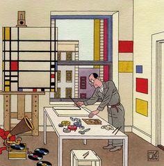 De kunstenaarsbeweging De Stijl bestaat 100 jaar in 2017. Het begon in 1917 met tijdschrift De Stijl opgericht door Theo van Doesburg. ...