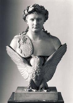 Bertel Thorvaldsen (1770-1844), Napoleon Bonaparte c. 1830, marble