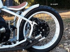 Custom Bmw, Style Retro, Motorcycles, Motorbikes, Motorcycle, Choppers, Crotch Rockets