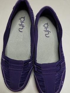 331e369cd66 Women s Ryka Slip Moccasin purple Size 8.50 slip on  fashion  clothing   shoes