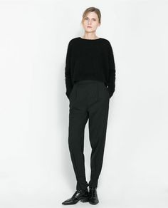 Image 1 of TROUSERS WITH ANKLE STRAPS from Zara