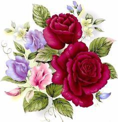 Картинки для декупажа (цветы). Обсуждение на LiveInternet - Российский Сервис Онлайн-Дневников