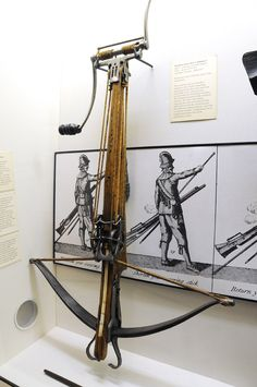 ghost-of-gold:  Extremely high tension winch system crossbow