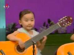 Cartoon Character Playing Guitar