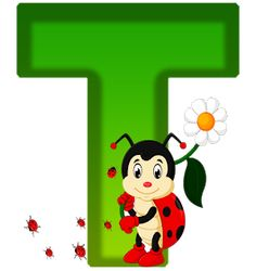 Ladybug Picnic, Alphabet And Numbers, Alphabet Letters, Teaching Tools, Preschool Crafts, Wood Crafts, Symbols, Christmas Letters, Abcs