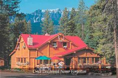 We are looking forward to visiting Lake Louise this year, and to our stay at Baker Creek