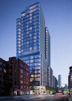 Renzo Piano´s 565 Broome Soho tower in New York See more excellent decor tips here:http://nydesignagenda.com #architecture #nyc #newyork