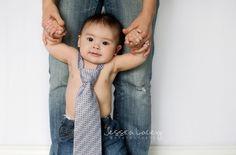 6 Month Old Photo Idea Tie