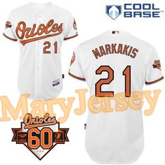 65a034c10 ... usa 23.88 per one welcome email maryjersey at maryjerseyelwaygmail for orioles  21 nick markakis white cool