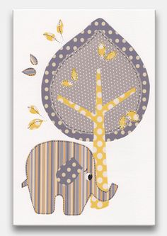 Nursery Art Print Baby Nursery Decor Owl Decor by SnoodleBugs