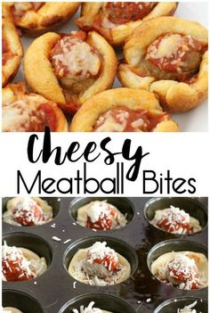 Cheesy Meatball Bites  and Pillsbury Crescent Rolls Recipes - Crescent Roll Ideas for Entrees, Snacks, Appetizers, Desserts and More on Frugal Coupon Living.