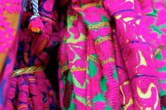 Beautiful Fabrics in Jodhpur, India. Amazing Detail-Work.