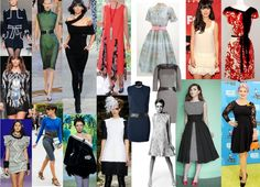 Dresses must be sculpted , fit on the figure, and short . Fitting styles , close to the adjacent shoulders telu.V very extended , curved or streamlined . Models with filling and deflated waist too good.  Fabric should be moderate or light density to always show the figure .  Dress knitted rib , which wrap around the contours of the body , excellent.  Asymmetrical hem and deflated waist - very chic details.