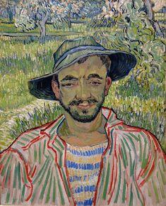 Vincent van Gogh / Portrait of a Young Peasant, 1889