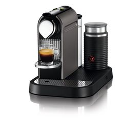 Nespresso Citiz C120 Espresso Maker with Aeroccino Milk Frother, Titanium * Read more reviews of the product by visiting the link on the image.