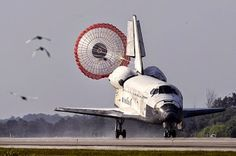 The final landing before shuttle was mothballed