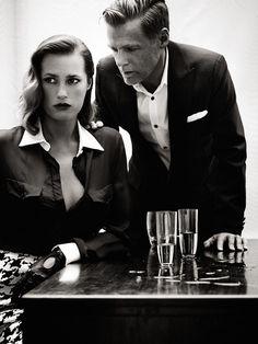 by Bryan Adams  Yasmin Le Bon / L'Officiel Paris  September 2011, like a boss,